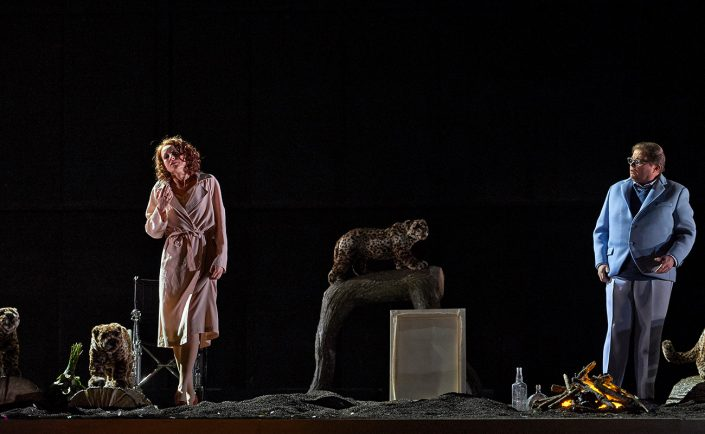 Sopranistin Martina Welschenbach Oper Lulu - © Uwe Stratmann