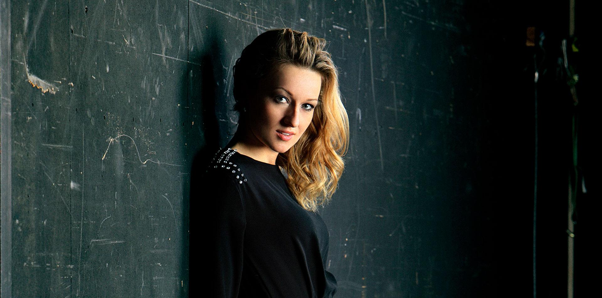 Protrait von Martina Welschenbach - Opersängerin