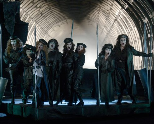 Martina Welschenbach Oper Walküre - © Deutsche Oper Berlin, Bettina Stöß
