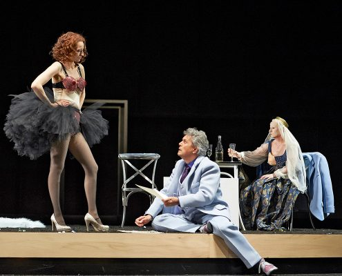 Opernsängerin Martina Welschenbach Oper Lulu - © Uwe Stratmann