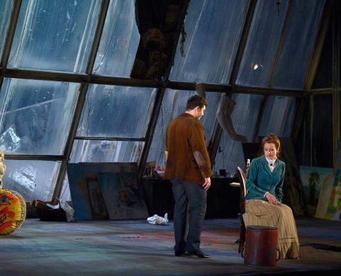 Opernsängerin Martina Welschenbach - Liebe der Danae 3 (c) Deutsche Oper Berlin, Barbara Aumüller